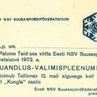 (Eesti Spordi- ja Olümpiamuuseum)